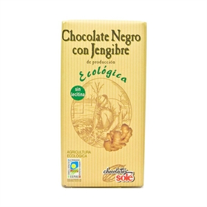 Picture of Chocolate negro con Jengibre eco 100gr