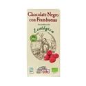 Imagen de Chocolate Negro Frambuesas Eco. 100 gr.