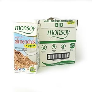 Picture of Caja de bebida de almendra con agave Monsoy eco 4 ud