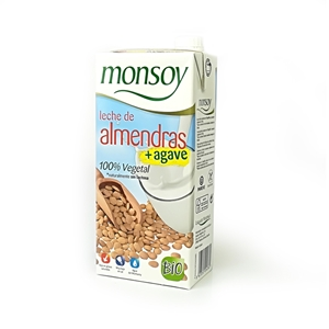 Picture of Bebida de Almendra con agave Monsoy eco 1lt