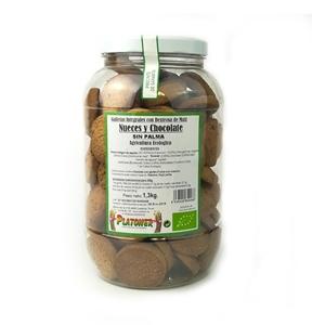 Picture of Galletas con nueces y chocolate sin azucar eco 1kg