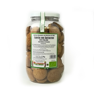 Picture of Galletas de trigo sarraceno con almendra, sesamo y canela eco 1.2kg