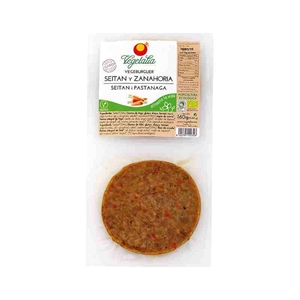 Picture of Vegeburguer Seitan y Zanahoria eco 160gr
