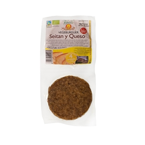 Picture of Vegeburguer Seitan y queso eco 160gr