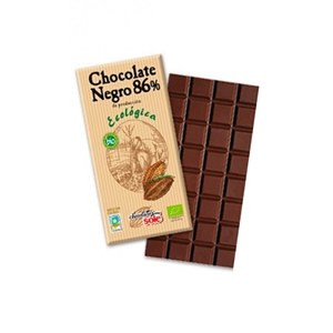 Picture of Chocolate negro 86% eco 100gr