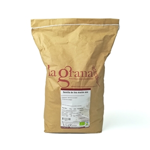 Picture of Semilla de lino marron eco 5kg