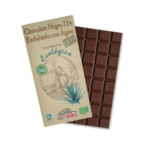Picture of Chocolate negro 73% sin azucar con agave eco 100gr