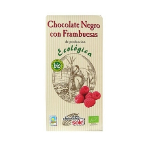 Picture of Chocolate Negro Frambuesas eco 100gr