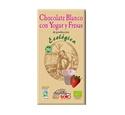 Imagen de Chocolate Blanco con Yogur y Fresas eco 100gr