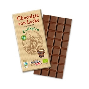 Picture of Chocolate con leche eco 100gr