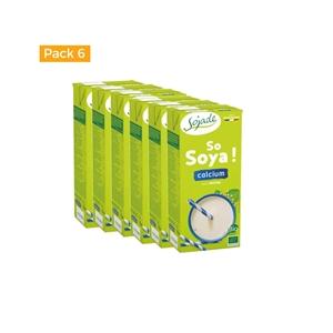 Picture of Caja de bebida de Soja+ calcio Sojade eco 6 ud