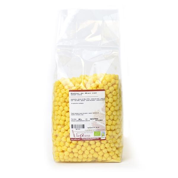 Picture of Bolitas de Maiz con miel eco 500gr