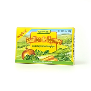 Picture of Caldo vegetal eco en pastilla 8x10,5gr