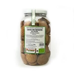Picture of Galletas de trigo sarraceno con almendra, sesamo y canela eco 1.2kg