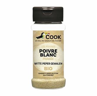 Imagen de Pimienta blanca en polvo sin gluten eco 45g