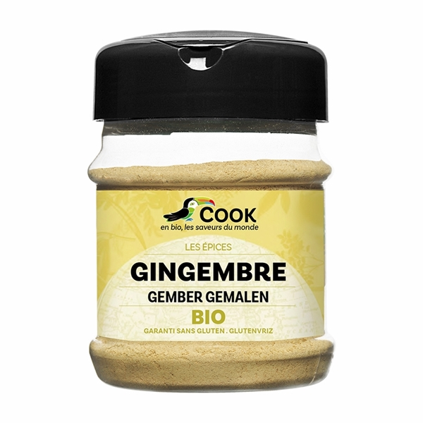 Picture of Jengibre en polvo sin gluten eco 80g
