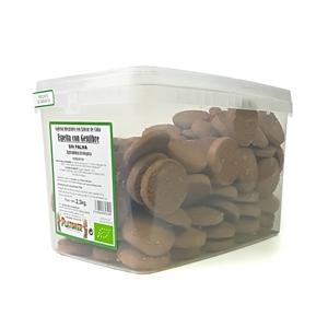 Picture of Galletas de espelta con jengibre, cacao y sesamo eco 3kg