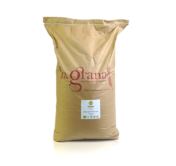 Picture of Harina de Arroz Blanco sin gluten eco 25kg