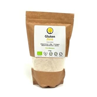 Imagen de Harina de trigo sarraceno Gluten Zero eco sin gluten 1kg