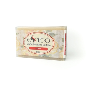 Picture of Jabon en pastilla de coco natural 100gr