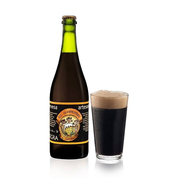 Picture of Cerveza Artesanal Negra 750ml