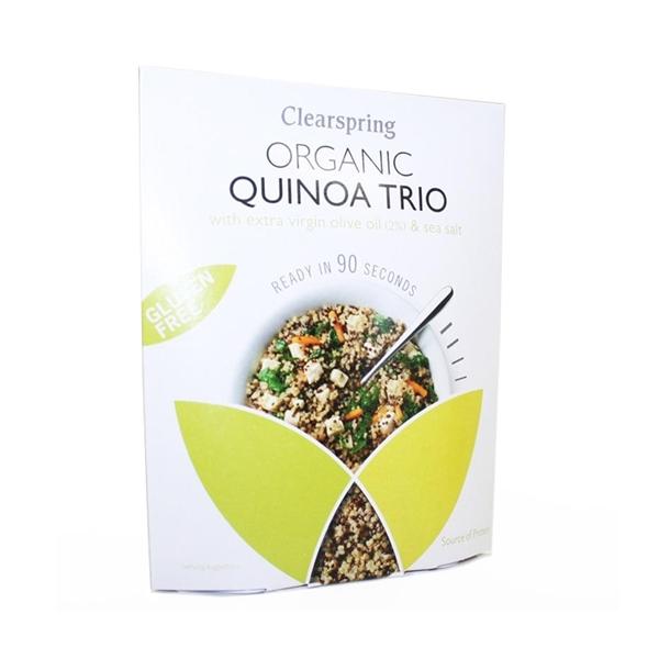 Picture of Quinoa Trio Instantaneo s/gluten eco 250gr
