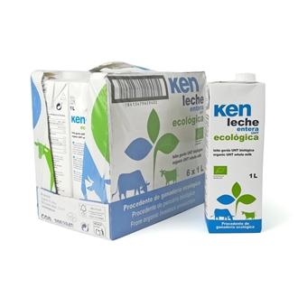 Imagen de Caja de leche entera de vaca Ken eco 6 ud