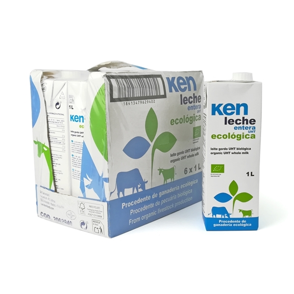 Picture of Caja de leche entera de vaca Ken eco 6 ud