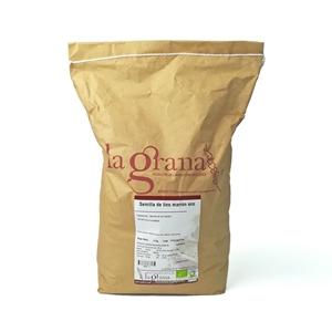 Picture of Semilla de lino marron eco 5kg
