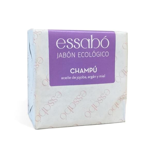 Picture of Champu en pastilla con aceite de jojoba, argan y miel eco 120gr