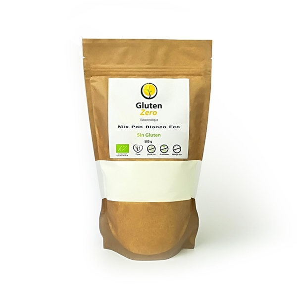 Picture of Mix Blanco Gluten Zero eco sin gluten 500gr