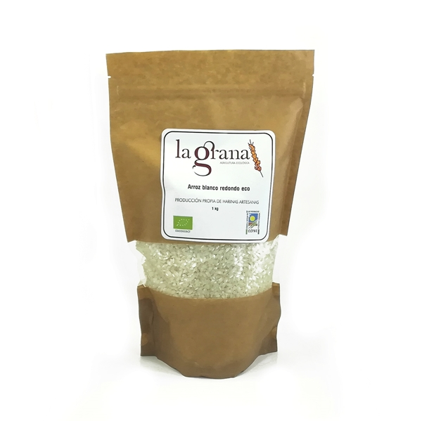 Picture of Arroz Blanco redondo eco 1kg