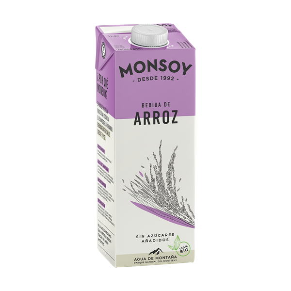 Picture of Bebida de arroz Monsoy eco 1lt