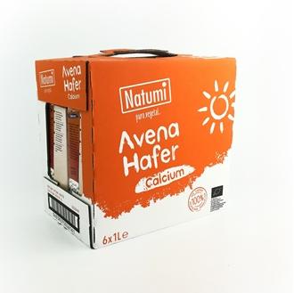 Imagen de Caja de bebida avena y calcio Natumi eco 6 ud