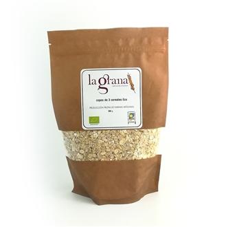 Imagen de Copos de 3 cereales eco 500gr