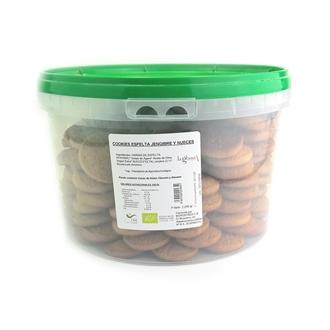 Imagen de Galletas de Espelta con jengibre, nueces y agave eco 2.2kg