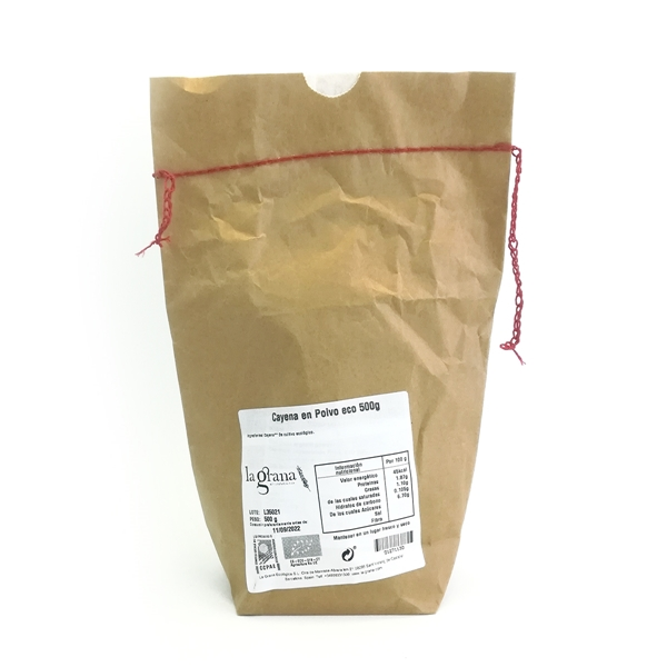 Picture of Cayena en Polvo eco 500g