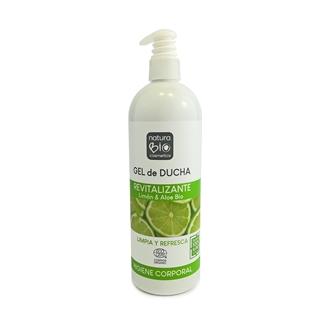 Imagen de Gel de ducha revitalizante limon y aloe vera NaturaBio 740ml