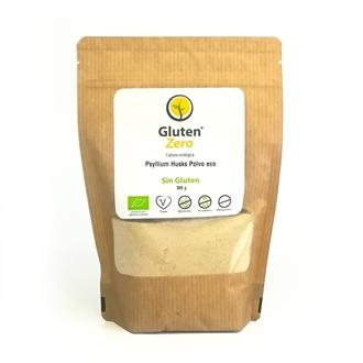 Imagen de Psyllium husks polvo Gluten Zero eco sin gluten 300g