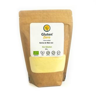 Imagen de Harina de maiz Gluten Zero eco sin gluten 500g