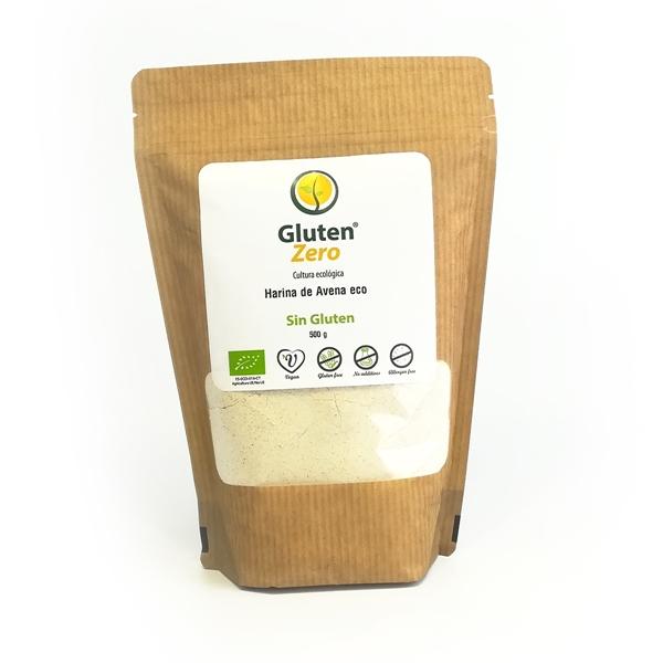Picture of Harina de avena Gluten Zero eco sin gluten 500g