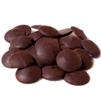 Imagen de Cobertura gotas de chocolate negro 60% eco 10kg