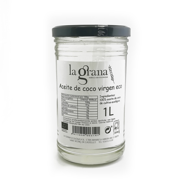 Picture of Aceite de Coco virgen 1º presion eco 1l