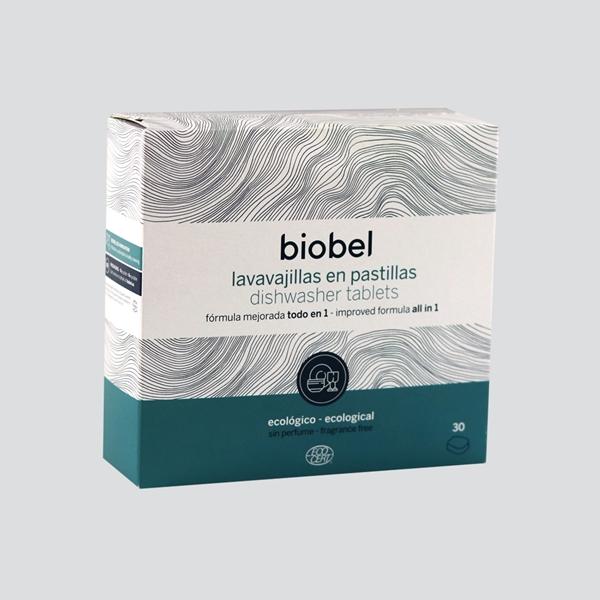 Picture of Pastillas para lavavajillas Biobel eco 30 unid.
